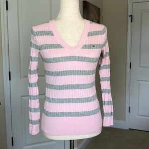 Tommy Pink Sweater
